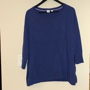 Gap pull over sweater blue XXL